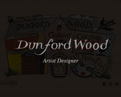 Hugh Dunford Wood Artist Designer Website By Just SO Media House Lyme Regis Dorset